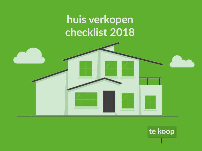 Huis verkopen checklist 2018